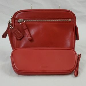 Coach Cosmetic Bags/Red (427)